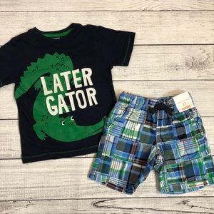 Gymboree Shorts and Tee Outfit